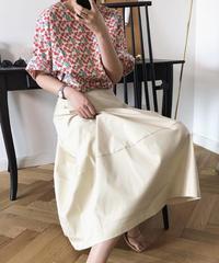 夏桜*コットン100% ビッグ スイング スカート ns190805-27