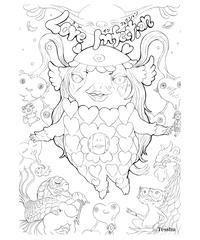 絵画で綴る物語/Love Infection「 第1話 プリプー& 第2話 シンペイ」