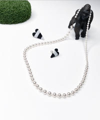 mm | 2pearl necklace | necklace