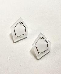 nezu | NE-5 | 氷の石×シャイニー(大)ピアス/イヤリング