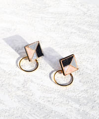 RITUAL the crafts | Square Hoop earring