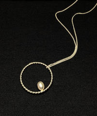 hHOME | HH-5 | circle big necklace