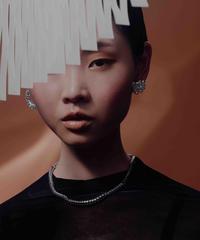 nezu | NE-6 | シャイニーカーリング(大)ピアス/イヤリング