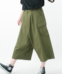 Wide Cargo Pants (BEIGE , KHAKI , BLACK)