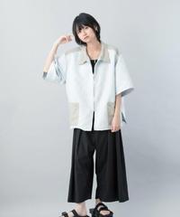 【21SS 受注予約商品】あみだシャツ ( gray , navy )