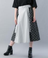 【20SS  受注予約商品】オブラートスカート ( GRAY , NAVY )