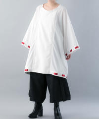 【20SS  受注予約商品】やっこブルゾン (WHITE×RED , BLACK×WHITE , BLACK×BLACK )
