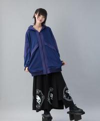 【20-21AW 受注予約商品】アクセラレータパーカー ( BLUE , BLACK )