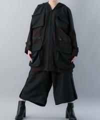 【20SS  受注予約商品】オブラートコート (RED ,  BLACK)
