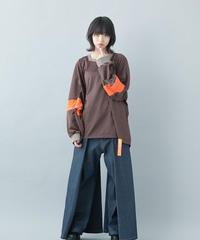 【21-22AW collection受注予約商品】みちゆきプルオーバー ( brown , black )