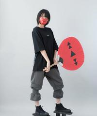 【21SS 受注予約商品】つまようじパンツ ( charcoal , black )