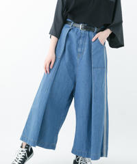 Side Line Denim Pants (BLUE , INDIGO)