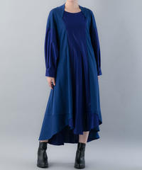 【20SS  受注予約商品】三日月ワンピース (BLUE , BLACK )