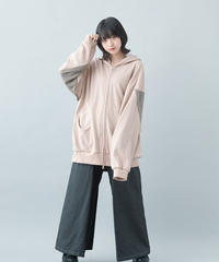 【21-22AW collection受注予約商品】ヘッドホンパーカー ( pink , black )