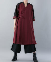 【20SS  受注予約商品】サムエカシュクール (RED , BLACK )