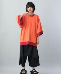 【21SS 受注予約商品】あしゅらトレーナー ( orange , oatmeal , black )