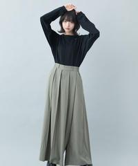 【21-22AW collection受注予約商品】かいてんタックパンツ ( khaki , black )
