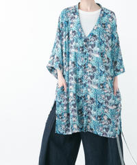 Minamo Shirt (BLUE , GRAY)