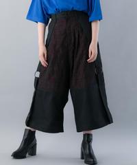 【20SS  受注予約商品】オブラートボンテージパンツ ( RED , BLACK )