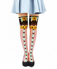【復刻】MerryGORound OV-0148【トルテクッキー】オーバーニー
