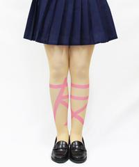 【オリジナル】8T-0135【友達-ピンク】タイツ
