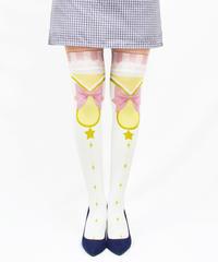 【復刻】MerryGORound OV-0151【魔法少女(ピンク)】オーバーニー
