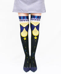 【復刻】MerryGORound OV-0157【魔法少女(夜の帳)】オーバーニー