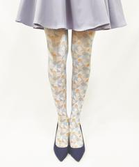 【キャラクター】カピバラさん 8T-0108【幾何学模様】プリントタイツ