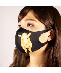 【オリジナル】MS-0223【白やぎと黒やぎ】マスク