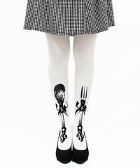 【復刻】MerryGORound 8T-0146【カトラリー(白)】タイツ