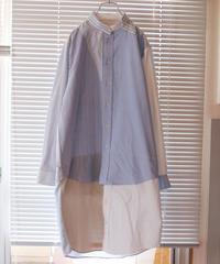 """""""七青"""" Seven Blue Colors Long Shirt Rebuild by Vintages"""
