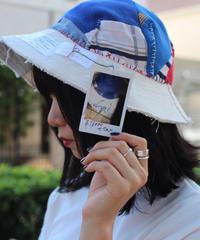 """""""ロックンロール""""  ROCK'N'ROLL hat, Rebuild by vintages"""