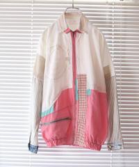"""""""ラヴァーソウルと百のキス"""" Lover soul jacket, rebuild by vintages with 100 kisses"""