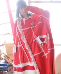 """""""三角関係のラガーガール・ワンピース"""" Love triangle lager girl dress, rebuild from vintages"""