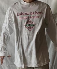 【USED】L/S T-shirt TABASCO /210602-049