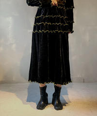 【RE;CIRCLE】Mellow Velor Skirt 3 / 201103-010