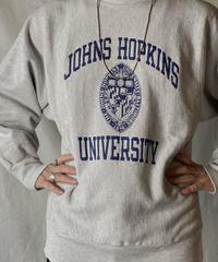 【USED】 90's USA Champion Reverse Weave Sweat JOHNS HOPKINS / 210127-058