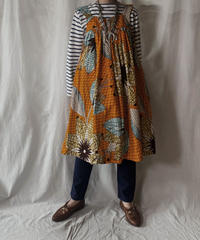【USED】 African Batik One-piece①/210428-001