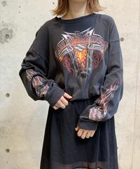 【Used】Harley-Davidson L/S  T-Shirt / 200911-005