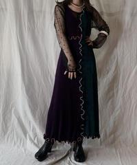 【RE;CIRCLE】 Mellow Spandex N/S Dress①/210324-32