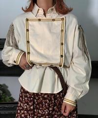 【Used】L/S Fringe Western Shirt  / 201006-002