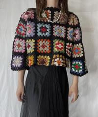 【RE;CIRCLE】 RE Granny Knit Top⑦/211014-007