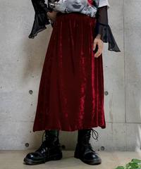 【Used】Velor  Long  skirt/ 200928-010