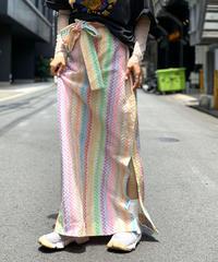 【Used】Stripe Long Skirt