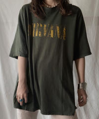 【USED】 S/S T-shirt NIRVANA/210630-007