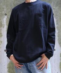 [Goodwear] Long sleeve T-shirt (Black)