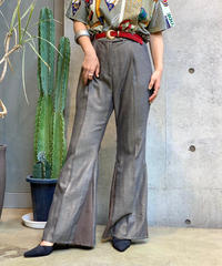 【RE;CIRCLE】Bell-Bottom Rame Pants / 200728-011