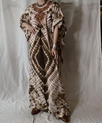 【USED】 African Batik One-piece④/210428-006