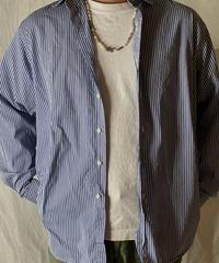 【USED】 Ralph Lauren Stripe Shirt①/210520-001