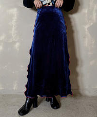 【RE;CIRCLE】 Mellow  Velour Skirt ② / 201212-009